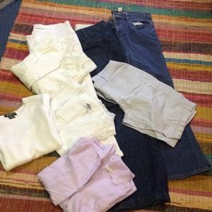 Lot of size 6pants Nd 4 tops